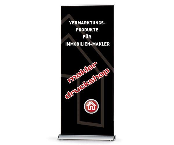 Rollup-Banner Premium 85cm - inkl. Druck