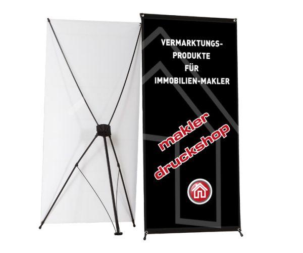 X-Banner Premium - inkl. Druck