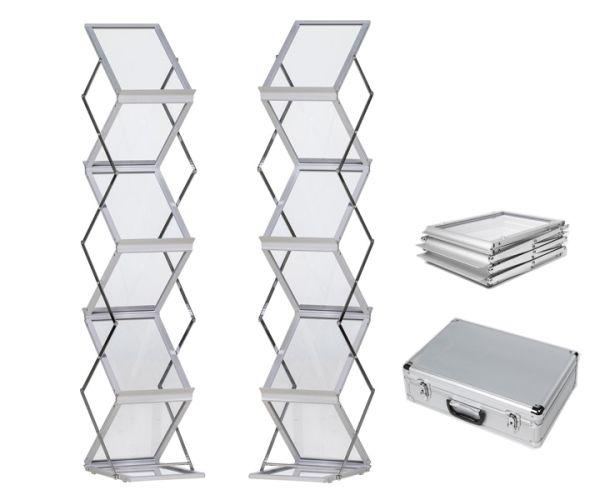 Aluminium Prospektständer A4