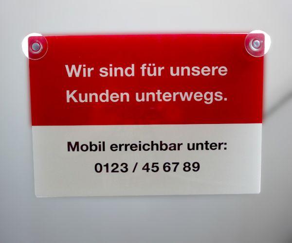Türschild - 42cm x 30cm - Hohlkammerplatte