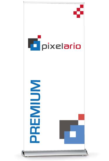 Rollup Premium - inkl. Druck