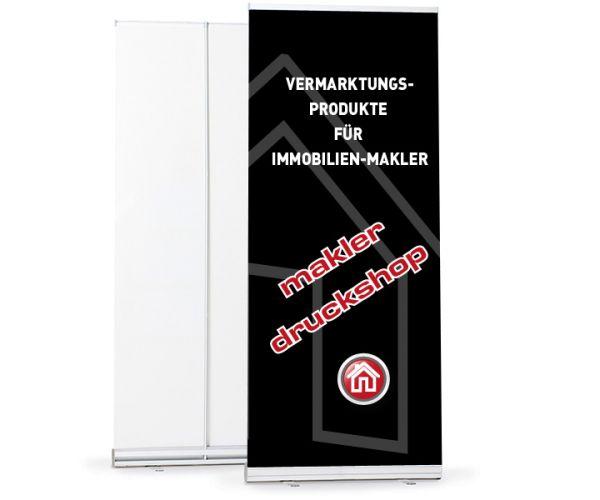 Rollup-Banner Basic 85cm - inkl. Druck